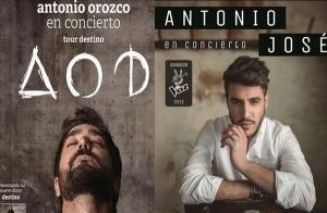 Concierto Antonio Orozco y Antonio José / Almendralejo (Badajoz)