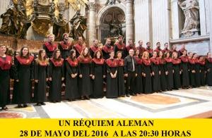 Coro Uex y C.Sevilla UN RÉQUIEM ALEMAN