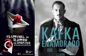 Entradas para KAFKA ENAMORADO, 39 FESTIVAL TEATRO DE BADAJOZ