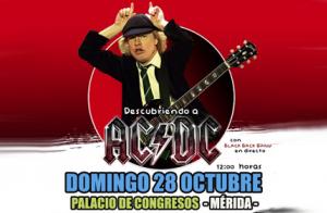Entrada patio de butacas para Descubriendo a AC/DC con Black Band (MÉRIDA)