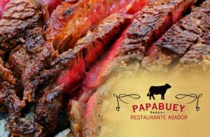Menú completo de chuletón en el Restaurante Asador PAPABUEY