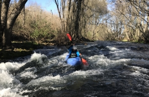 Descenso en kayak del rio Jerte