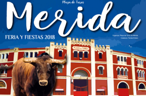 Ferias y Fiestas de Mérida. Corrida de toros, 1 de septiembre