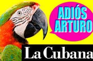 Entrada de butaca para ADIOS ARTURO, LA CUBANA.
