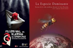 Entrada para  LA ESPECIE DOMINANTE, 39 FESTIVAL TEATRO DE BADAJOZ