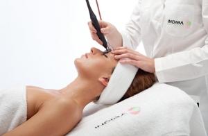 TRATAMIENTO FACIAL INDIBA: Peeling ultrasónico + Radiofrecuencia Indiba