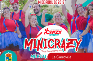 Inscripción CRAZY CROSS. La Garrovilla (Mérida)