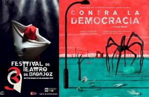 Entrada para CONTRA LA DEMOCRACIA, 39 FESTIVAL TEATRO DE BADAJOZ