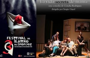 Entrada para LA VIDA SECRETA DE MAMÁ, 39 FESTIVAL TEATRO DE BADAJOZ