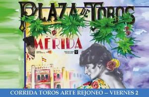 Corrida de Rejones. Feria de Mérida