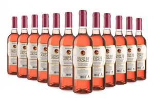 3,6 o 12 botellas de vino rosado Conde de Argaiz